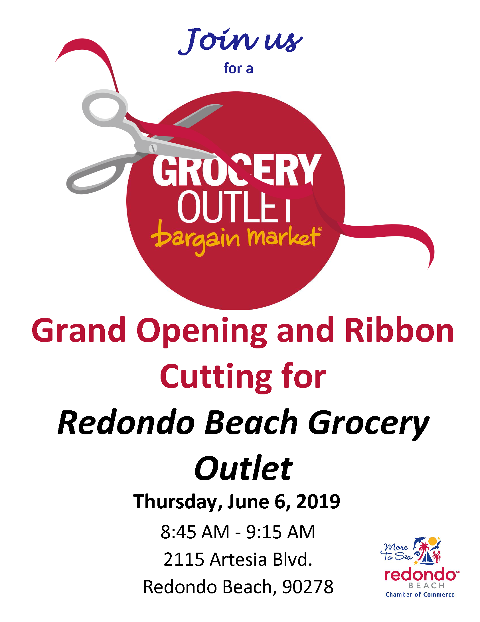 Ribbon Cutting and Grand Opening of Grocery Outlet